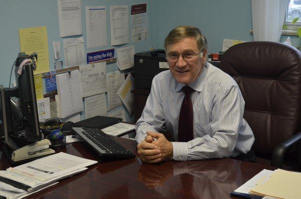 Superintendent Chris Dyer BY ERIN MCKINLEY