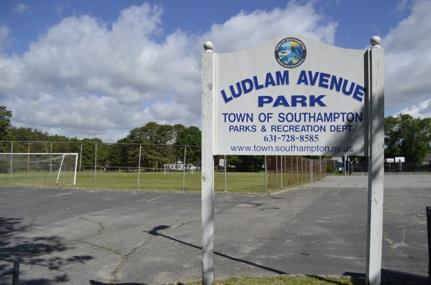 Ludlam Avenue Park in Riverside was the original proposed location to construct a new building for Children's Museum of the East End programming. ANISAH ABDULLAH