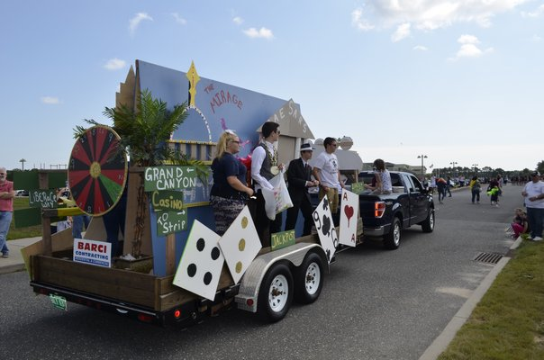 Eastport South Manor School District held it's annual homecoming parade and game on Saturday afternoon. ALEXA GORMAN