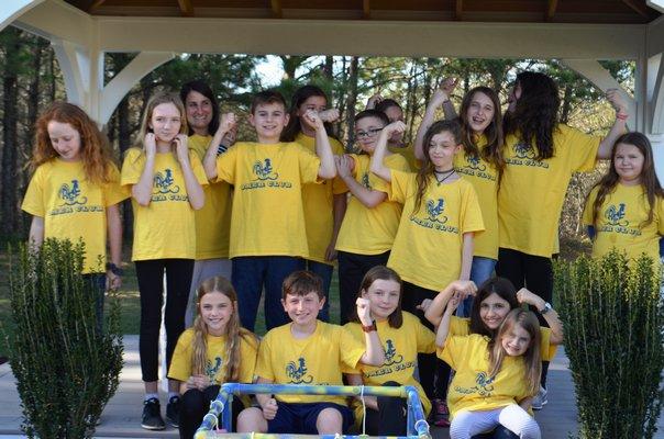 Remsenburg-Speonk Elementary School's Odyssey Angels team. ANISAH ABDULLAH