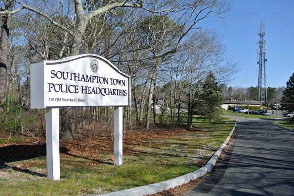 Southampton Town Police Headquarters.