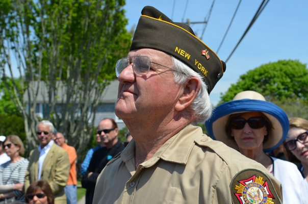 Bob Murray, of the Quogue Veterans of Foreign Wars Post 5350, served in the Vietnam War from 1963-1966 as a lieutenant in the Navy. Alexa Gorman