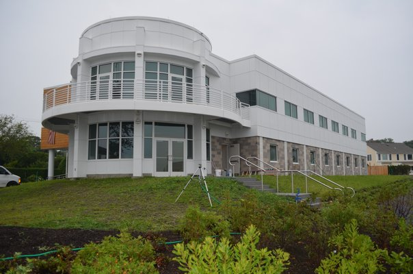 Christopher Paparo is the manager of the new Marine Science Center at Stony Brook Southampton. BY ERIN MCKINLEY