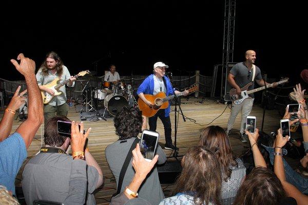 Paul Simon at the 2018 Montauk Music Festival.  PRESS FILE