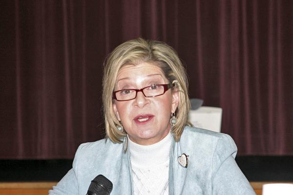Assistant Principal Gail Ackerson