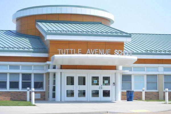 The Tuttle Avenue School in Eastport.   JENNIFER BIGORA
