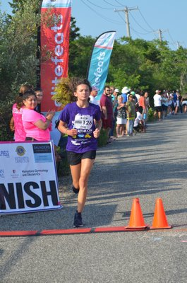 Tatum Norris of Green Cove Springs, Florida, placed second in the 14-and-under girls group. KIM COVELL