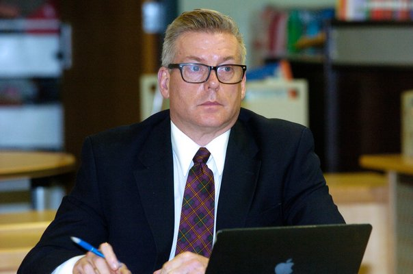 Dr. Nicholas Dyno was appointed as interim superintendent on Friday.  DANA SHAW