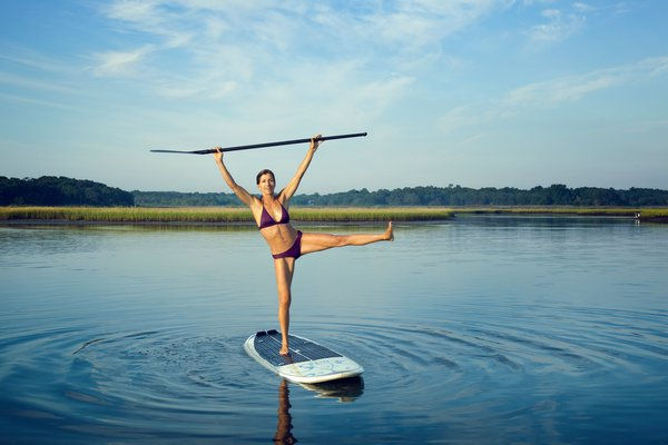 "Gina Bradley's book, ""Paddle Diva: Ten Guiding Principles To Finding Balance On The Water And In Life,"" is due out May 21. @michaelwilliamsphoto"
