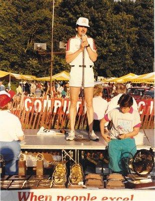 Cliff Clark in 1987.