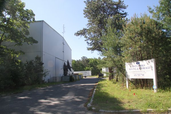 Twin Fork Moving & Storage took over the lease of the former movie sound stage on Industrial Road three years ago and now wants to build an 80,000 self-storage facility on the two properties it leases from the town. Michael Wright