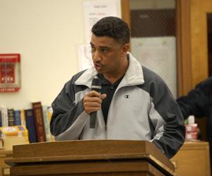 Randy King, Shinnecock Tribal Trustee Chairman
