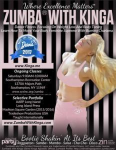 Dance Fitness with KINGA at Southampton SYS