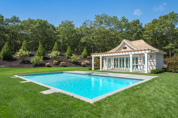 1348 Deerfield Road, Water Mill. BRIAN RENZETTI/COURTESY SOTHEBY'S