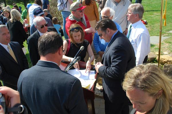 Southampton Village Mayor Mark Epley