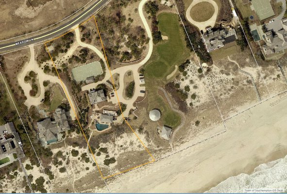 1100 Meadow Lane in Southampton made fourth on the most expensive sales of the fourth quarter. It sold for $38 million.