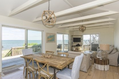 Views of the bay from Bay View in Amagansett. COURTESY DOUGLAS ELLIMAN