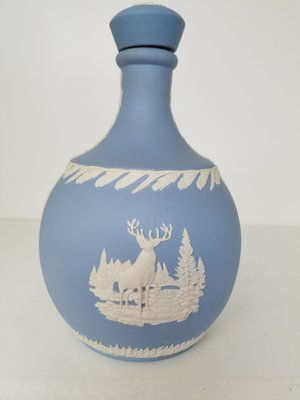 An English Wedgwood commemorative decanter for Glenfiddich.  JACK CRIMMINS