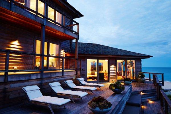The Montauk house at 240 Old Montauk Highway sold for $22.8 million. COURTESY PRIME MANHATTAN RESIDENTIAL