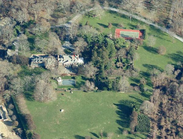 Aerial image of Ballyshear.   COURTESY SOUTHAMPTON TOWN
