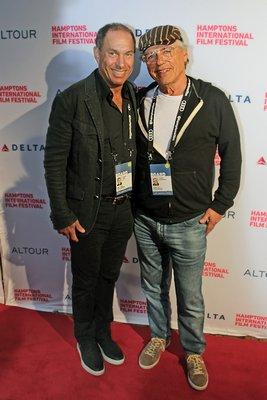 Stuart Suna and Joseph Zicherman, Hamptons International Film Festival board members.