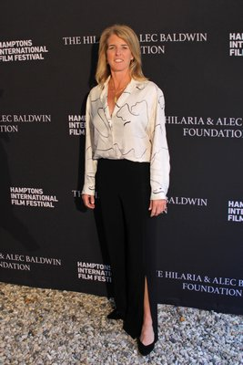 Rory Kennedy at the Hamptons International Film Festival on Saturday for the Chairman's Reception at the Suna Residence. TOM KOCHIE