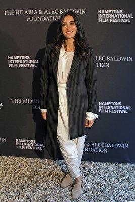 Actress Nadine Labaki ('Capernaum') at the Chairman's Reception.  TOM KOCHIE