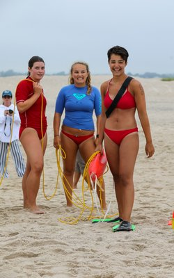 Scenes from this year's Mike Diveris Battle Of Southampton, the Town of Southampton lifeguard competition on Thursday, July 18, at Scott Cameron Beach.