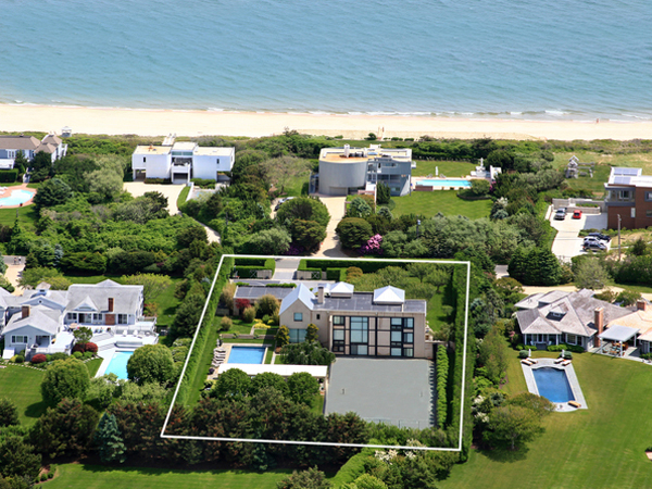A home at 72 Surfside Drive in Bridgehampton will fetch significantly less money than one on the oceanfront side. COURTESY PRUDENTIAL DOUGLAS ELLIMAN