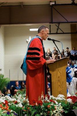 Riverhead High School Principal Charles Regan Courtesy Madison Fender/Riverhead News-Review