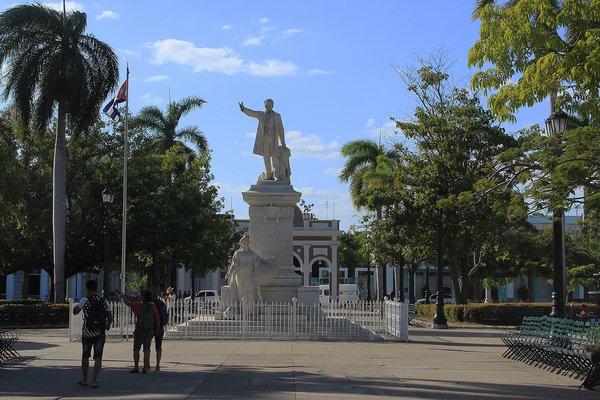 Statue of Jose Marti. ANNE SURCHIN