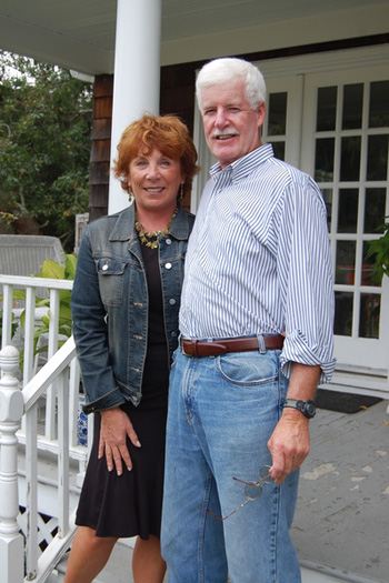 Gayle Ratcliffe and Kevin Leavay