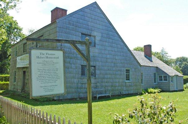 The historic Halsey House.