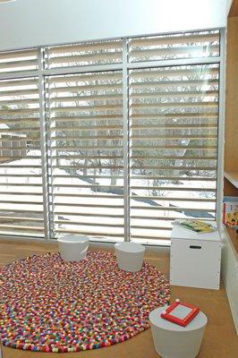 The family room at the Kanas Center for Hospice Care.  DANA SHAW