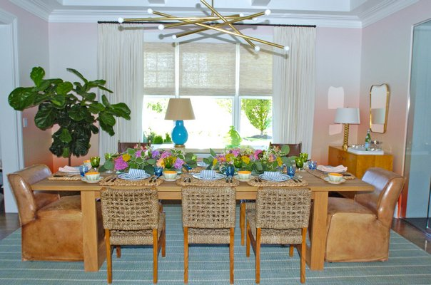 Brian Brady's dining room.