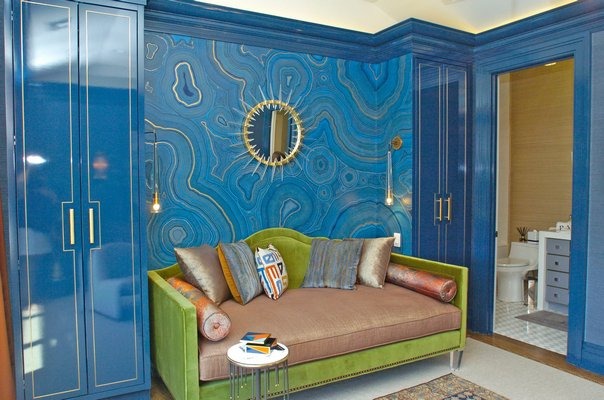 Rajni Alex's guestroom.  DANA SHAW