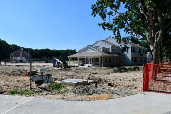 The Sandy Hollow affordable housing project.   DANA SHAW