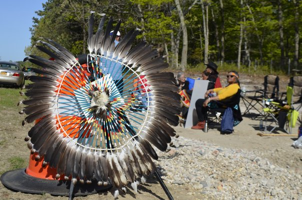 Eagle feathers are considered sacred to the Nation. ANISAH ABDULLAH
