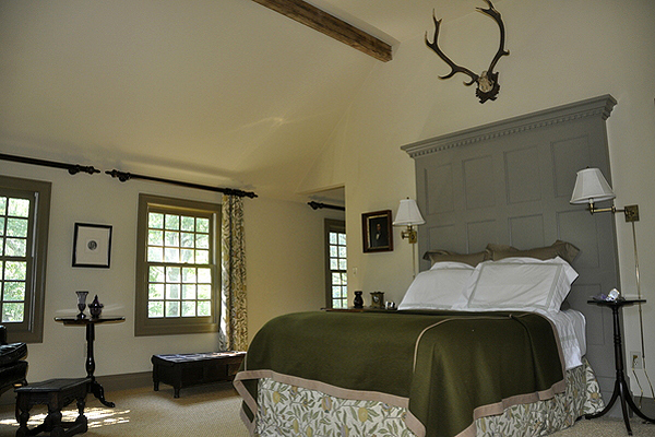 The master bedroom. MICHELLE TRAURING