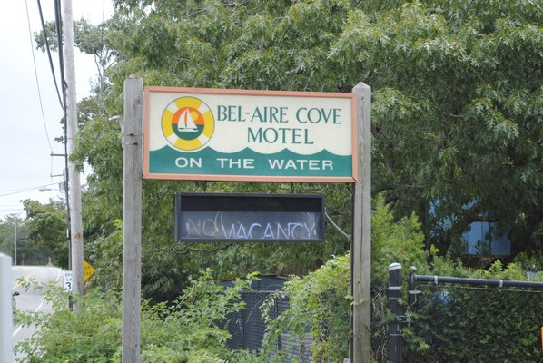 Southampton Town Board members voted to purchase the Bel-Aire Cove Motel in Hampton Bays on Tuesday.