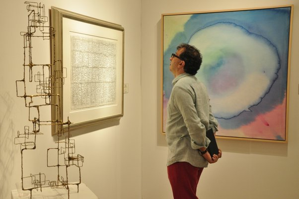 Scenes from the third annual Art Southampton, which opened with a VIP preview party on Thursday night. MICHELLE TRAURING
