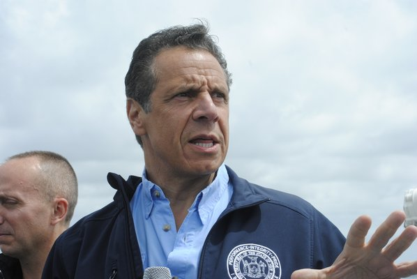 Governor Andrew Cuomo is proposing banning the release of both arrest information and mugshots by New York state's police departments.   PRESS FILE