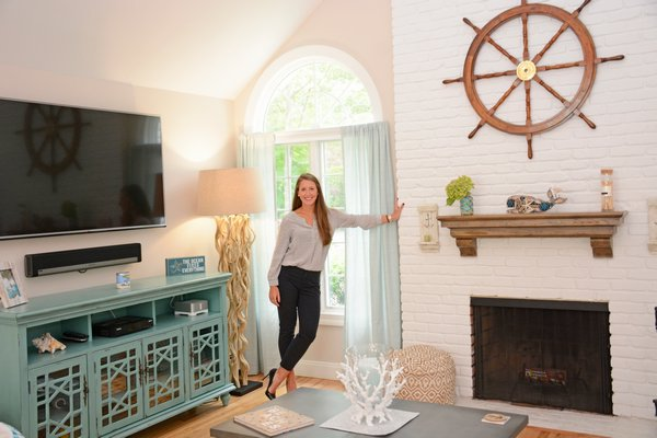 Corcoran real estate agent Ashley Farrell got into the business in large part because of many of her relatives who are all brokers, too. JD ALLEN