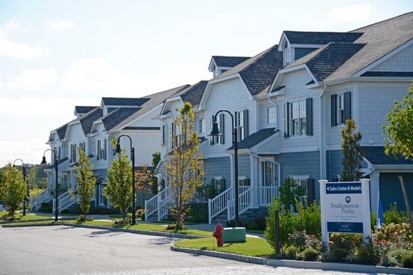 A housing lottery in October selected from more than 270 people who applied for one of 15 condominiums at Southampton Pointe on County Road 39. The Community Housing Fund would give Southampton Town access to more funding for projects like this. PRESS FILE