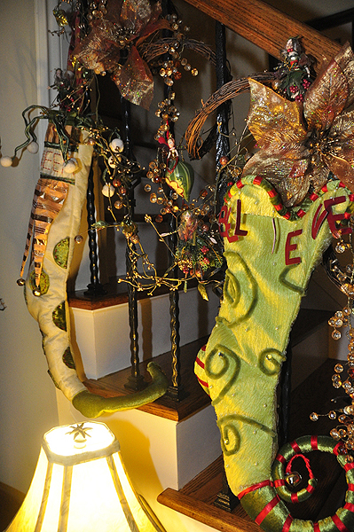 Catherine Paez decorated her home for the holidays. MICHELLE TRAURING