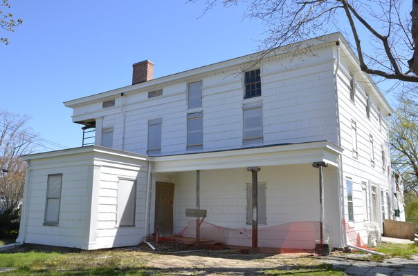 The Nathaniel Rogers House is slowly returning to its former glory. Shaye Weaver By Shaye Weaver