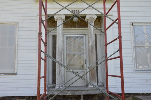 The Nathaniel Rogers House is slowly returning to its former glory. By Shaye Weaver