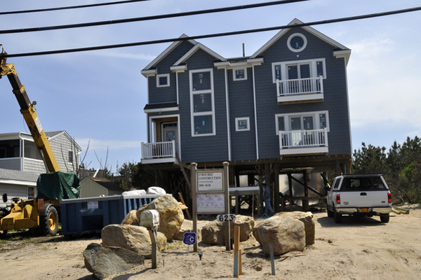 623 Dune Road in Westhampton. MICHELLE TRAURING