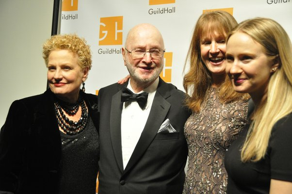 Joan Holden and Jules, Kate and Halley Feiffer. MICHELLE TRAURING
