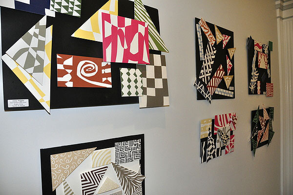 Graphic design pieces from East Hampton High School. MICHELLE TRAURING